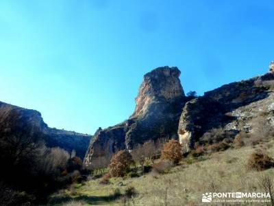 Barranco Río Dulce; caminito del rey senderismo para principiantes viajes en grupo para jovenes